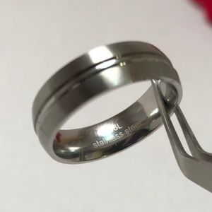 Other - Men Stainless Steel Band Ring 11, 13, 14